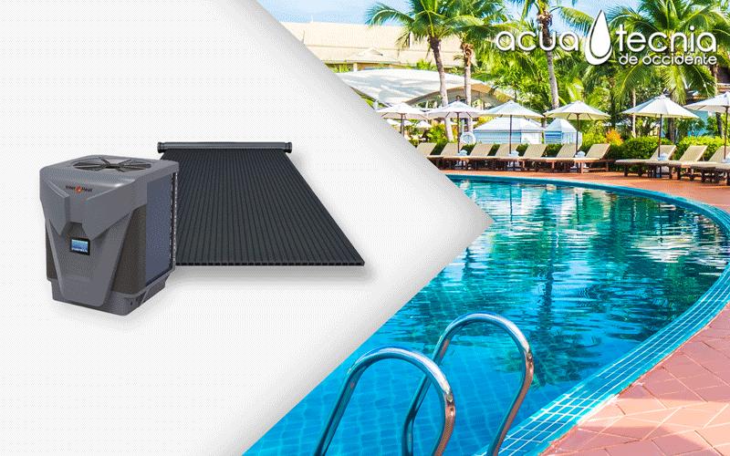 Calienta tu piscina y descubre cómo AHORRAR DINERO utilizando sistema híbrido