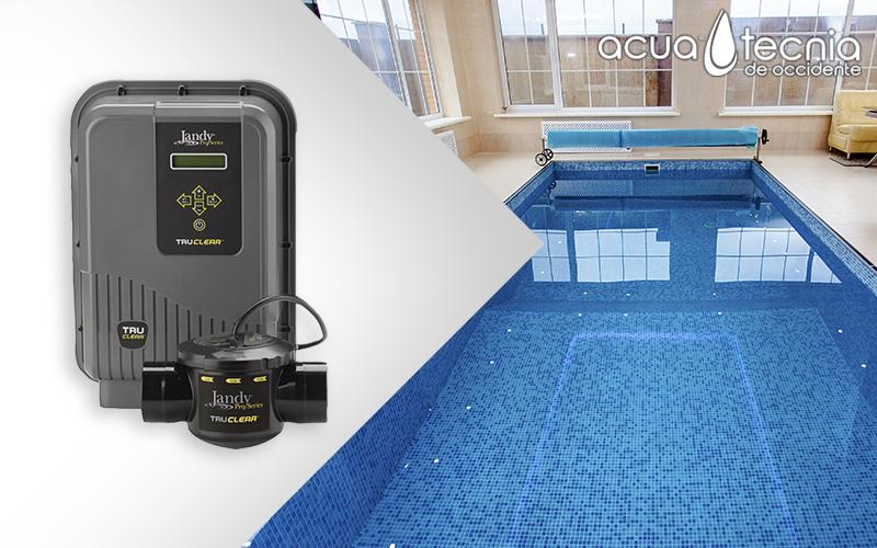 Generación de cloro a base de sal en las piscinas